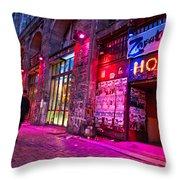 Berlin Street Throw Pillow