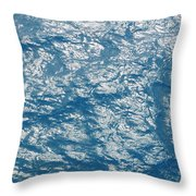 Bermuda Blues Throw Pillow by Luke Moore
