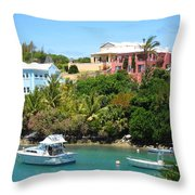Bermuda In May Throw Pillow