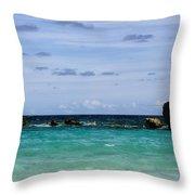 Bermuda Skies Throw Pillow