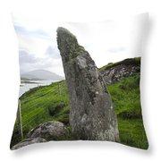 Bernera Stone Near Water Throw Pillow