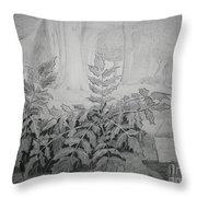 Bernheim Forest Plant Throw Pillow