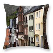 Bernkastel Germany Throw Pillow