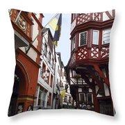 Bernkastel Germany Throw Pillow