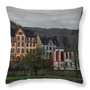 Bernkastel-kues Throw Pillow