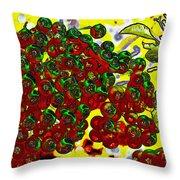 Berries Art Throw Pillow