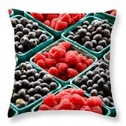 Berry Berry Nice Throw Pillow