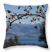 Berry Good View Throw Pillow