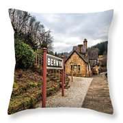 Berwyn Station Throw Pillow