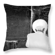 beseeching the LORD Throw Pillow