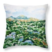 Beshtau Throw Pillow