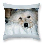 Bessie Eyes Throw Pillow