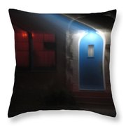 Best Blue Door Coronado California Throw Pillow