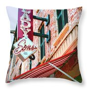 Best Dishes Savannah Throw Pillow