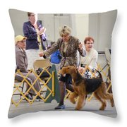 Best In Show Competition Throw Pillow