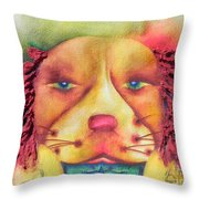 Best In Show Dog A Tude One Throw Pillow