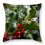 Best Of Holidays Throw Pillow