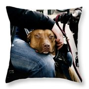 Best Pal Throw Pillow by Ivy Ho