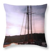 Best Seat In Town Throw Pillow