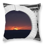 Best Wishes Throw Pillow by Luke Moore
