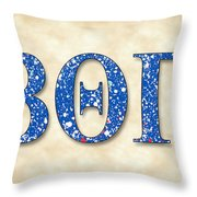 Beta Theta Pi - Parchment Throw Pillow