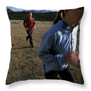 Beth Rodden And Tommy Caldwell Get Throw Pillow