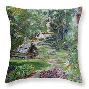 Bethania Garden Throw Pillow
