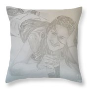 Bethany Throw Pillow by Justin Moore