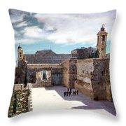 Bethlehem 1950 Throw Pillow