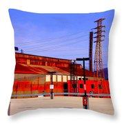 Bethlehem Steel Buildings Throw Pillow