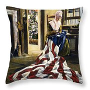 Betsy Ross (1752-1836) Throw Pillow