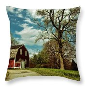 Betsy William's House Throw Pillow