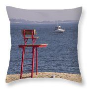 Better Days Ahead Throw Pillow
