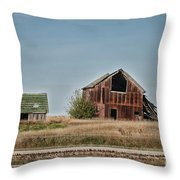 Better Days Central Il Throw Pillow