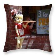 Betty Boop 1 Throw Pillow