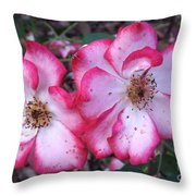 Betty Boop Roses Throw Pillow