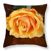 Betty's Rose Throw Pillow