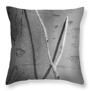 Between Black And White-09 Throw Pillow