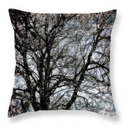 Between Heaven And Earth Expressionism Art Throw Pillow