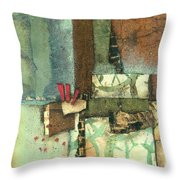 Between The Earth  Throw Pillow