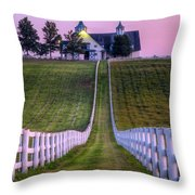 Between The Fences Throw Pillow