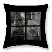 Between The Frames Throw Pillow