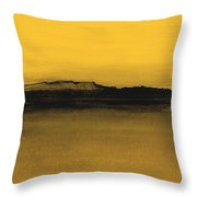 Between The Woods And Frozen Lake  Number Eleven Throw Pillow