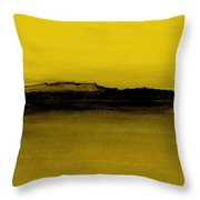 Between The Woods And Frozen Lake   Number Nine Throw Pillow