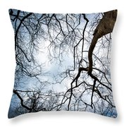 Between Times Throw Pillow