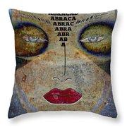 Between Worlds - Masked Series Throw Pillow