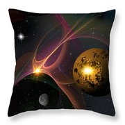 Betwixt 2 And 4 Throw Pillow