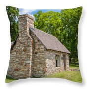 Beverly Mill Store Throw Pillow by Guy Whiteley
