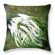 Beware Of The Thorns Throw Pillow