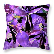 Beware The Midnight Garden Throw Pillow